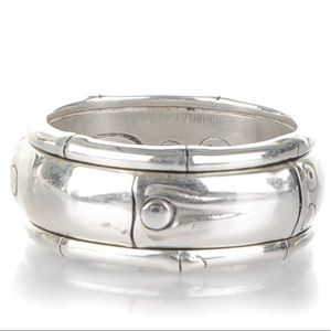 John Hardy spinning sterling silver ring
